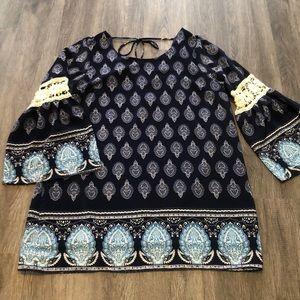 🌺Host Pick🌺 Ing Boho Tunic Mini Dress